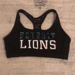 Detroit Lions Sports Bra Victoria's Secret PINK